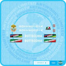 Bottecchia Bicycle Decals Transfers - Stickers - Set 4