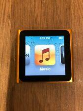 Apple iPod Nano 8GB 6th Generation - Orange