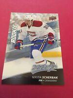 Nikita Scherbak  Canadiens 2017-2018 Upper Deck MVP Rookie #233