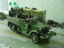 military army anti aircraft halftrack code3