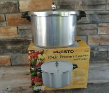 16 Quart Presto Pressure Cooker / Canner with Rack ~ Stock No. 01745