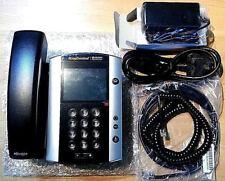 Polycom VVX 500 Voip SIP POE IP HD Media Business Desktop Phone with PSU office
