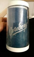 """Vintage Dallas Cowboys Collectible Thermo Serv Mugs / Cup 1990""""s lot of 2"""