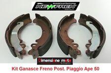 0174 - Kit Ganasce Freno Posteriori NEWFREN per Piaggio Ape 50 Mix 2T dal 1998 >