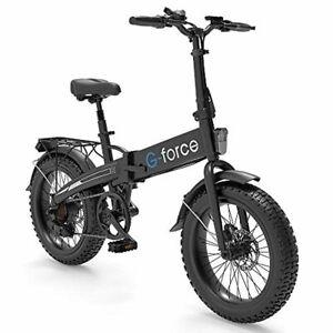 G-Force Electric Bike T42,Foldable Ebike, 20'' 4.0 Fat tire, 48V 10.4A Battery