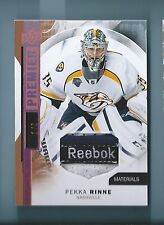 PEKKA RENNE 2015/16 UPPER DECK PREMIER MATERIALS REEBOK LOGO PATCH # 1/6
