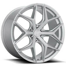 "(4) 24"" Niche Wheels M233 Vice SUV Brushed Silver Rims(B47)"