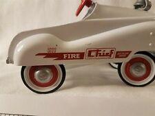 Hallmark Kiddie Classics Die Cast Car 1:6 White & Red Murray Fire Chief