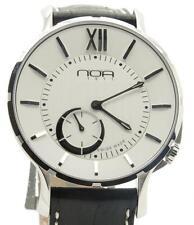 NOA Slim Watch 18.60 MSLQ-002 White Index 40mm Brand New w/ Box & Papers!