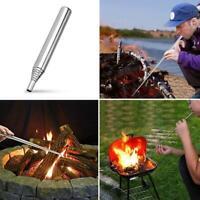 Einziehbares Outdoor-Kochwerkzeug Camping Blasrohr Feuer Blasrohr starten 2021