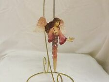 Noella 5.5in Boyds Charming Angel resin stone Christmas Angel ornament 4022544
