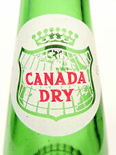 vintage ACL SODA POP  BOTTLE - CANADA DRY of INDIANA, PA - 10 oz ACL