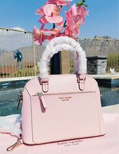 🌸 NWT Kate Spade Louise Small Dome Satchel Leather Bag Tutu Pink NEW $278 🌸