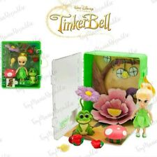 Disney Animators' Collection Tinker Bell Collectible Mini Doll Playset - New