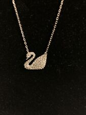 SWAROVSKI CRYSTAL SWAN NECKLACE 5007735  BEST OFFERS CONSIDERED