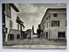 CORNO DI ROSAZZO Viale Trieste Udine vecchia cartolina