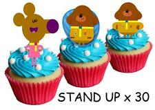 30 Hey Duggee STAND UP Cupcake Edible Paper Cake Edible Topper Decorations