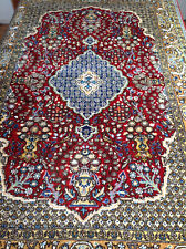 echter Perserteppich Ghom Ghoum persian carpet tapis tappeto alfombra soie silk