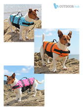 Dog Life Jacket Swimming Float Vest Reflective Adjustable Buoyancy Aid Pet