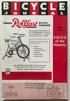 1965 Bicycle Journal Magazine SCHWINN STING-RAY Photo Murray Captain Kangaroo Ad