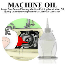20ML FINE SEWING MACHINE OIL KNITTING OVERLOCKER LUBRICATION SQUEEZY DISPANSER