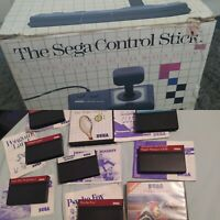 Sega Master System Games and Control Stick Bundle