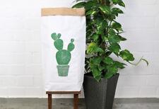 Papiersack Paperbag *Kaktusprint* Dekoration Wäschesack Aufbewahrung jungalow