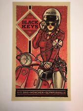 The Black Keys Munchen Lars Krause Art Poster Print 2012