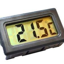 Mini Digital LCD Black Thermometer Freezer Probe Fish Tank Vivarium Lizard NEW