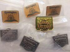 7 Vintage Remington Hunting Shooting Gun Collectors Pins