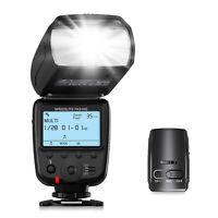 2.4G Wireless Flash Trigger Camera Flash Speedlite Kit for Canon Nikon Sony