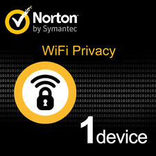 Symantec Norton WiFi Privacy for Windows-PC, Mac, Smartphone, Tablet, 1 user UK
