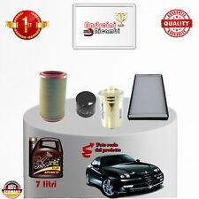 Kit de Mantenimiento Filtros + Aceite Alfa Romeo Gtv 3.0 V6 162KW 220CV 1998 -