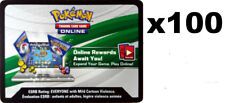 100x Pokemon Sun & Moon SM6 Forbidden Light Online Code Cards NEW & UNUSED!!