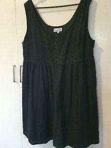 Dream Diva Peplum Tiered Dress Size 18
