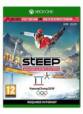 Steep Jeux d'hiver Edition Xbox One Flambant Neuf Scellé Officiel