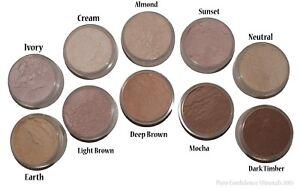 Medium Mineral Foundation natural makeup loose powder bare cosmetics skin