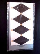 New Home Decor Stencil - Diamond Harlequin Pattern #105 Wall Border, Furniture