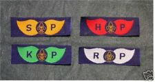 4 x India Air Scout & Guide Membership Badges Patches