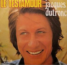 ++JACQUES DUTRONC le testamour/le dilemme SP 1973 VOGUE VG++