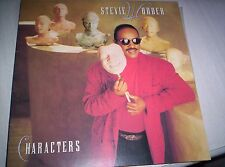 STEVIE WONDER  CHARACTERS  GATEFOLD  LP  1987
