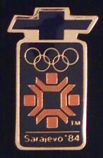 Chevrolet Olympic Sponsor Pin ~1984~Sarajevo ~ Auto~Car