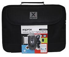 Maletin de portatil 15.6' Mouse Optico Approx Appnbbundle (Cod. Des-8435099