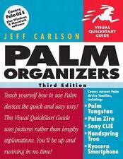 Palm Organizers, Third Edition (Visual QuickStart Guide), Carlson, Jeff, Good Bo