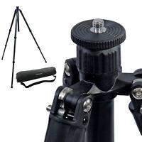 "56"" Carbon Fiber Camera Tripod Stand Adjustable DSLR Photography Photo Studio"