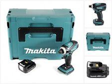 Makita DTD 134 Y1J 14,4 V Li-Ion Schlagschrauber Solo im Makpac + 1x 1,5 Ah Akku