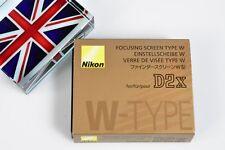 BNIB NIKON FOCUSING SCREEN W-TYPE FOR D2X D2Xs CAMERA Nice!