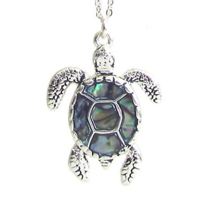 Gasherbrum 925 Sterling Silver Ladies Necklace Cute Turtle Pendant Necklace Turtle Chain