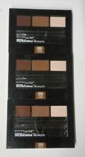 3 palette lot Maybelline Brow Drama Pro Palette Eyeshadow 265 Auburn unsealed