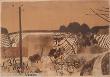 Rene Genis French Fauvism Art Print Lithograph Pencil Signed Artist Proof 02777